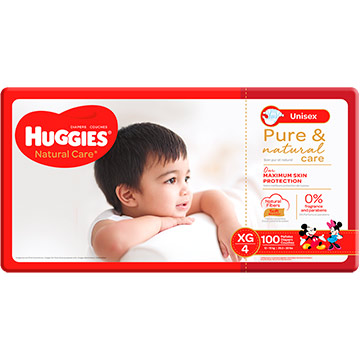 PANAL HUGGIES NAT CARE GIANT TXG 100EA