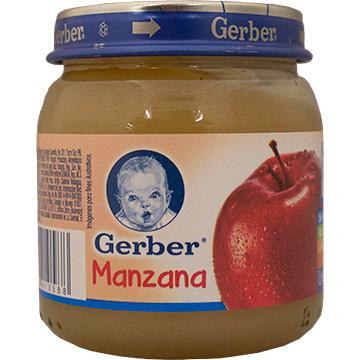 COLADO GERBER DE MANZANA PASO 2 113 GR