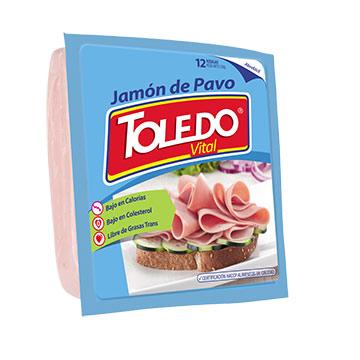 TOLEDO JAMON DE PAVO 230 GRAMOS