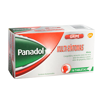 PANADOL MULTISINTOMAS TABLETA X 16