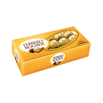 CHOCOLATE FERRER ROCHER GOND 100GR