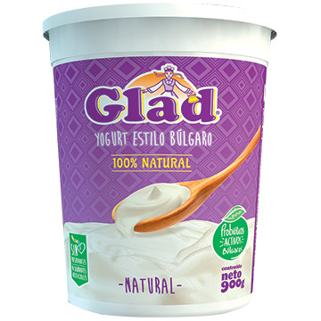 YOGURT GLAD GRIEGO NATURAL 900GR
