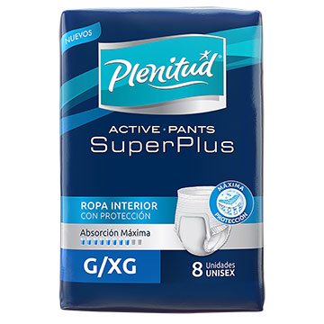 ROPA INT PLENITUD ACT SUPER PLUS G/XG 8U