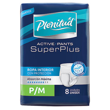 ROPA INT PLENITUD ACT SUPER PLUS PM 8UN