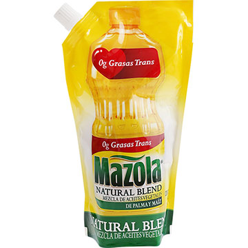 ACEITE MAZOLA NATURAL BLEND 800 ML