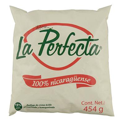 Crema acida La Perfecta 454 g