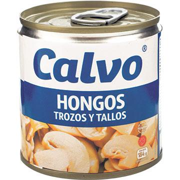 CALVO HONGOS TROZOS Y TALLOS 184 GR