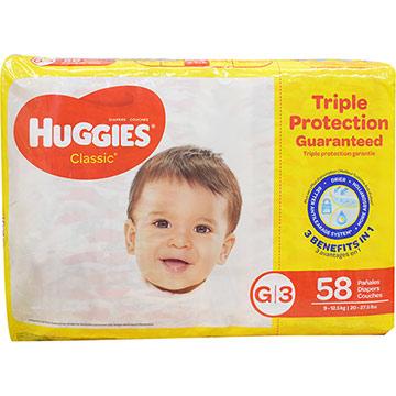 PANAL HUGGIES CLASSIC SUPER MEGA G 58U