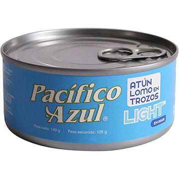 ATUN PACIFICO AZUL TROCITS EN AGUA 140GR