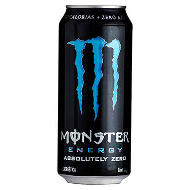 Bebida energetica Monster energy absolutely zero 473 ml