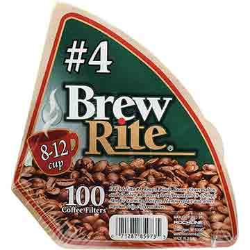 FILTROS PARA CAFETERA BREW RITE 100 EA