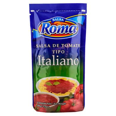 Salsa Roma tomate tipo italiana 106 g