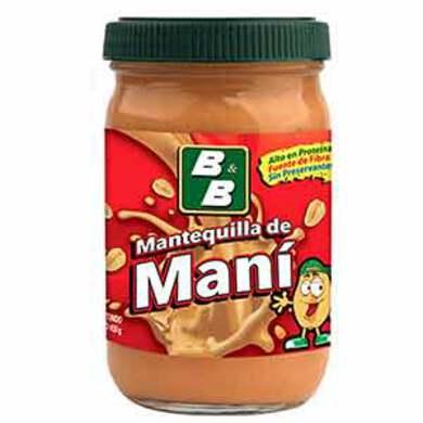 MANTEQUILLA BYB DE MANI 430GR