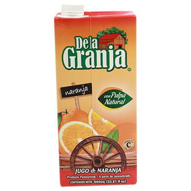 Jugo La Granja naranja 1000 ml