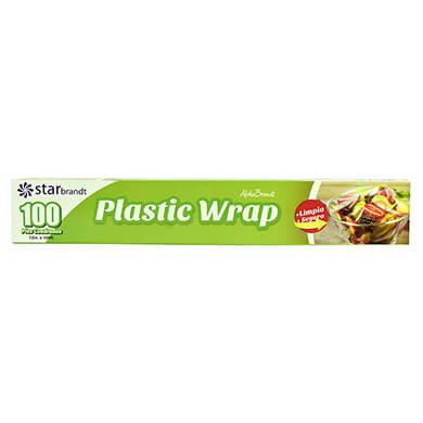 STARBRANDT PLASTIC WRAP 100 PIES
