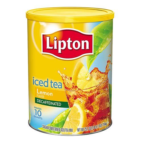 Bebida en polvo Lipton ice tea limon 1020 g