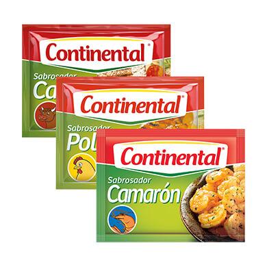 CONSOME CONTINENTAL POLLO 4PK 10 GR