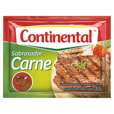 CONSOME CONTINENTAL CARNE 4PK 10 GR