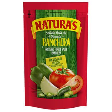 NATURAS SALSA TOMATE RANCHERA 210GR