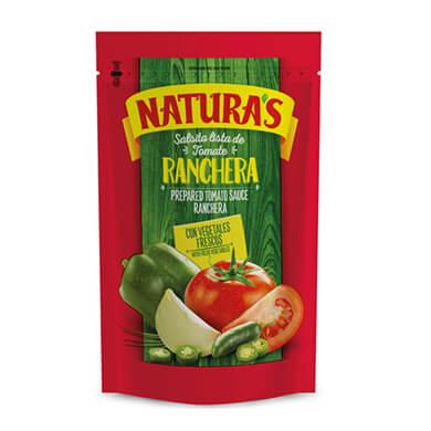 SALSA NATURAS DE TOMATE RANCHERA 106GR