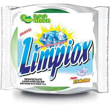 LAVAPLATOS LIMPIOX DISCO LIMON 115GR