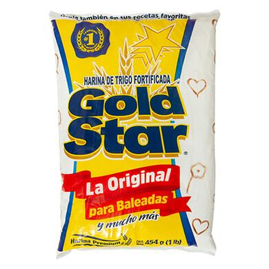 HARINA DE TRIGO GOLD STAR 454 GR