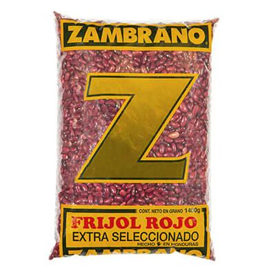 FRIJOL ZAMBRANO ROJO EXTRA 1400GR