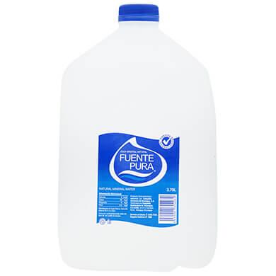 Agua Fuente Pura galon