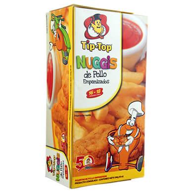 Nugget Tip Top empanizado de pollo 340 g