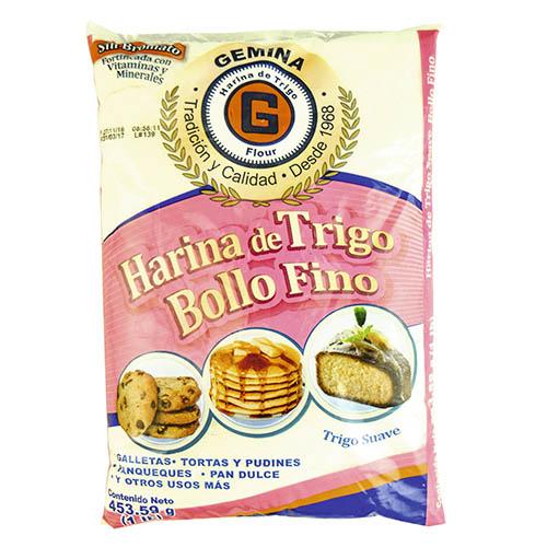 Harina de trigo Bollo fino 454 g