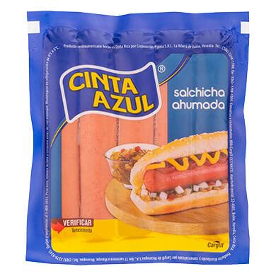 SALCHICHA HOT DOG CINTA A PAQ 480 G