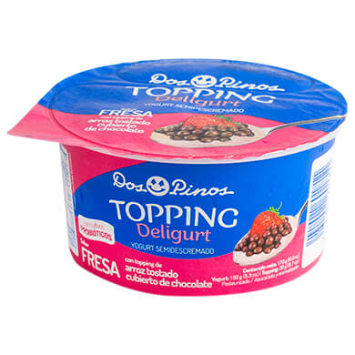 Yogurt Dos Pinos top arroz con chocolate 150 g