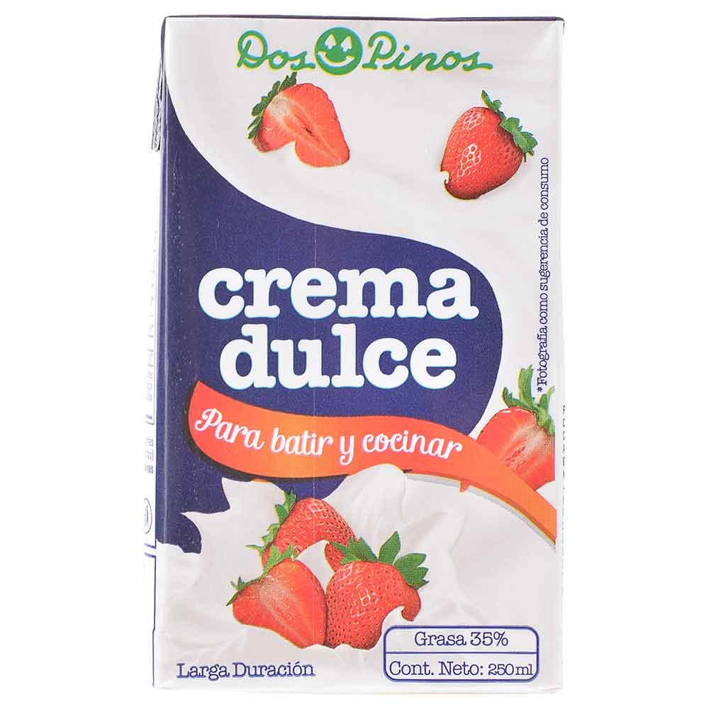 Crema de leche Dos Pinos para batir 250 ml