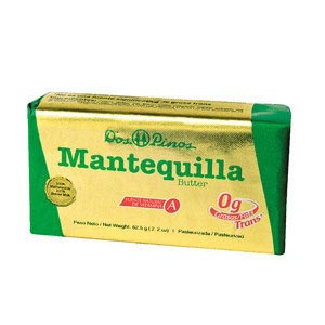 MANTEQUILLA AMARILLA DOS PINOS BARRA 62.5GR