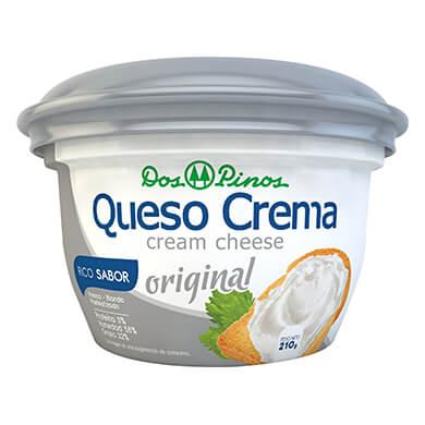 Queso crema Dos Pinos americano 210 g