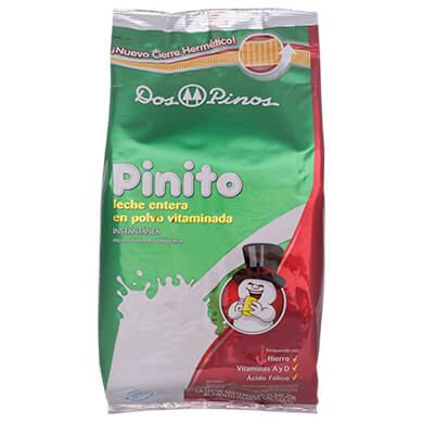 Leche en polvo Dos Pinos pinito 800 g