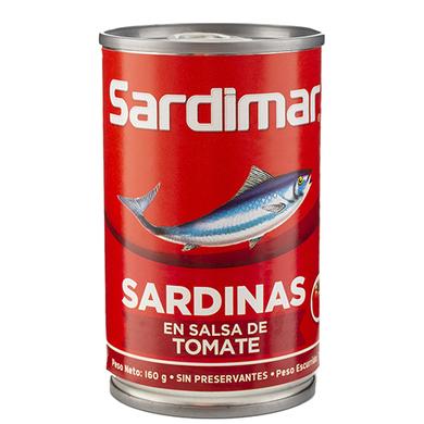 SARDINA SARDIMAR CILINDRICA TOMATE 160GR