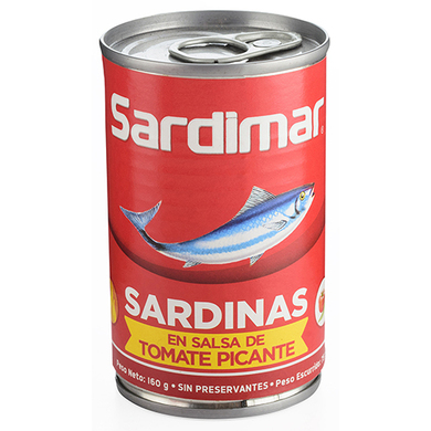 SARDINA SARDIMAR EN SALSA PICANTE 160GR