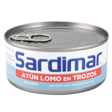 ATUN SARDIMAR TROZOS EN ACEITE 140GR