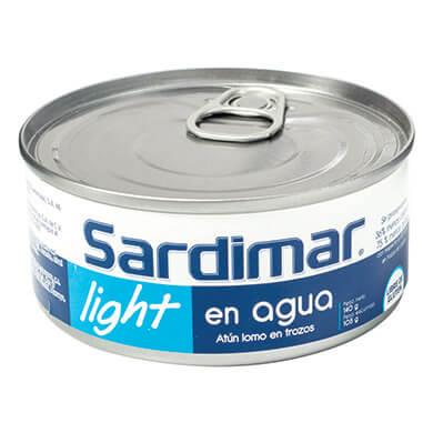 ATUN SARDIMAR LIGHT TROZOS EN AGUA 104GR