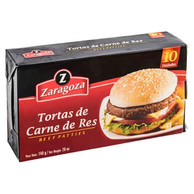 TORTA ZARAGOZA CONGELADO RES 10U 740GR