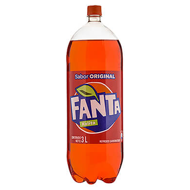 REFRESC GAS FANTA KOLITA PET 3000ML