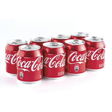 MINI COCA COLA ORIGINAL LAT 8PK 1896ML
