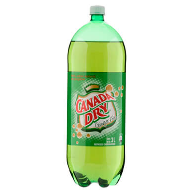 REFRESCO CANADA DRY GINGR ALE PET 3000ML