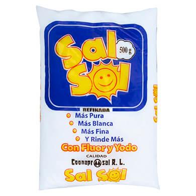 SAL SOL REFINADA YODADA 500 GR