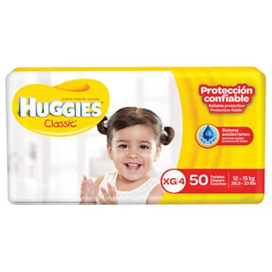 Panal Huggies classic super mega xg 50 unidades