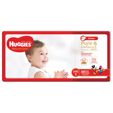 PANAL HUGGIES NAT CARE GIANT TXXG 88U