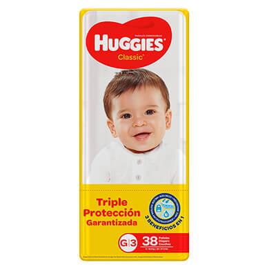PANAL HUGGIES CLASICO MEGA TG 38U