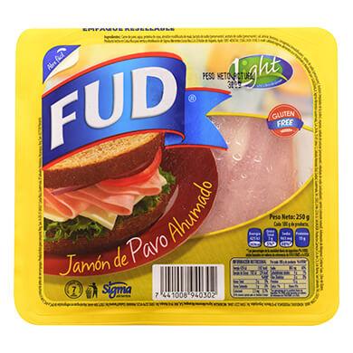 JAMON DE PAVO FUD 250G