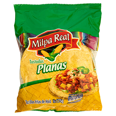 Tortilla Milpa real 175 g